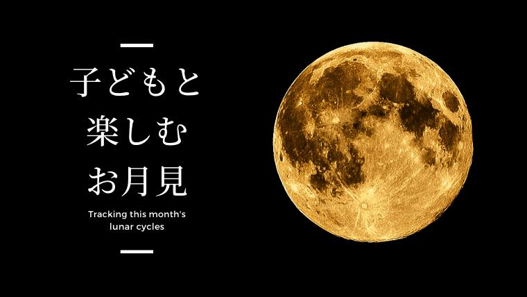 お月見 由来 子供